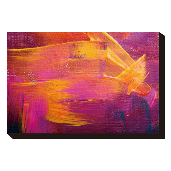 ポスター パネル アートパネル キャンバス アートポスター 壁掛け 壁飾り インテリア 玄関 プレゼント ギフト 贈り物 リビング ウォールアート おしゃれ 絵具 カラフル アート 暖色 パープル イエロー IAP-52108 Art Panel Thirteen Abstract