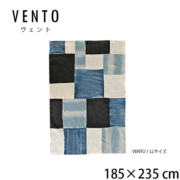 マルチカバー ソファカバー デニム 西海岸風 カリフォルニア インテリア 柄 ヴィンテージ 長方形 vento1 ヴェント VENTO 約185×235cm LL ブルックリンスタイル