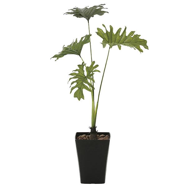 観葉植物 オフィス 玄関 エントランス ロビー リビング カフェ フェイクグリーン 消臭 フェイク 光触媒 インテリアグリーン おしゃれ 植物 植物 人工観葉植物 グリーン スプリット90 高さ90cm