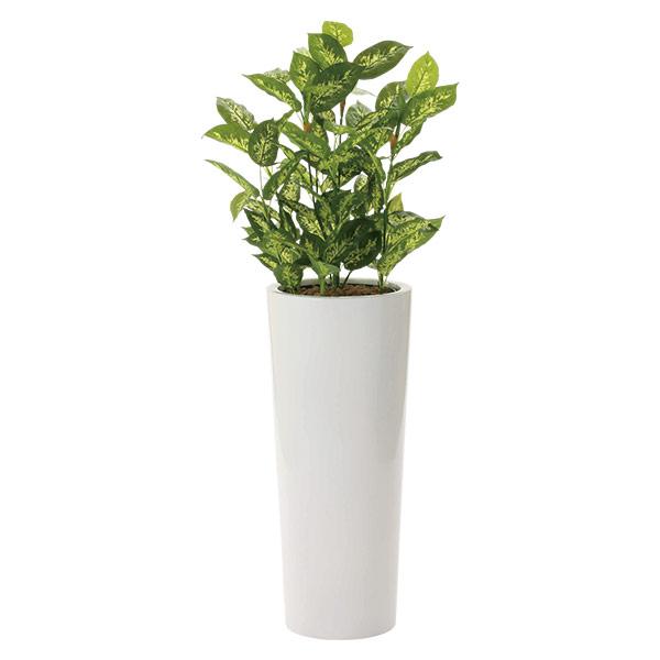 人工観葉植物 インテリアグリーン 光触媒 観葉植物 フェイクグリーン フェイク グリーン インテリア 植物 人工植物 高さ140cm ディフェンバキア1.4 消臭 抗菌 防汚
