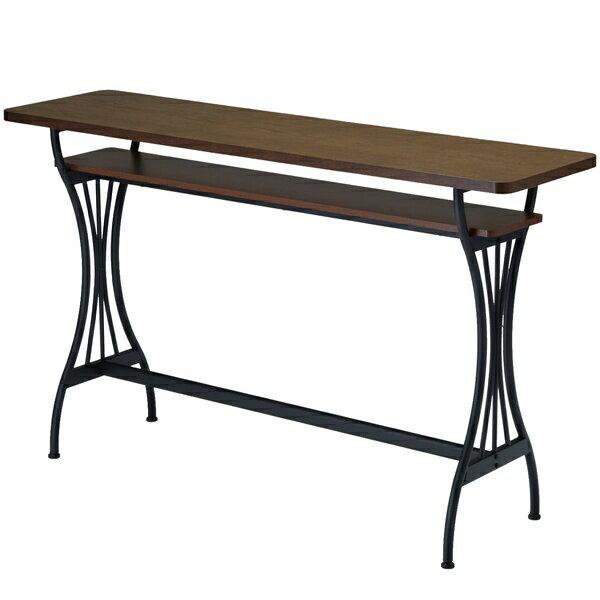 木製 カウンターテーブル 高さ87cm ハイタイプ バーテーブル 幅150cm 約高さ90cm 北欧 カフェ ハイテーブル テーブル パソコンデスク バーカウンターテーブル モダン カウンター バー 収納カウンター 棚付き 机 デスク 作業台 スリム インテリア シンプル おしゃれ