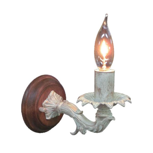 ブラケット 照明 電気 アンティーク ウォールランプ アンティーク調 おしゃれ ポーチライト エクステリア ライト 照明 電気 1灯 ライト インテリアライト 壁掛け照明 照明器具 FC-WW693R ベッドルーム 洋風 姫系 壁掛け照明 ガーリー アンティークテイスト