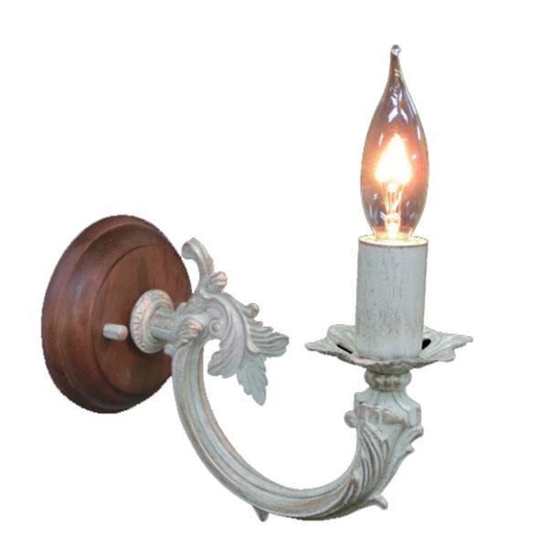 ブラケット 照明 電気 アンティーク ウォールランプ アンティーク調 おしゃれ ポーチライト エクステリア ライト 照明 電気 1灯 ライト インテリアライト 壁掛け照明 照明器具 FC-WW458R ベッドルーム 洋風 姫系 壁掛け照明 ガーリー アンティークテイスト