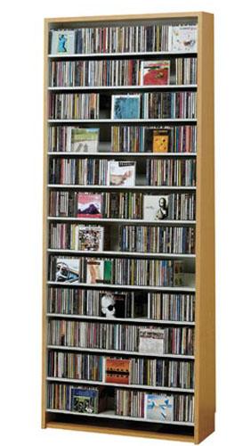 CDラック 【CD924枚】【DVD400枚】 CDラック 大容量 CD収納棚 DVDラック 棚 DVD ラック CD cd収納 収納 DVD収納ラック CD収納ラック おしゃれ CDストッカー ナチュラル 大量