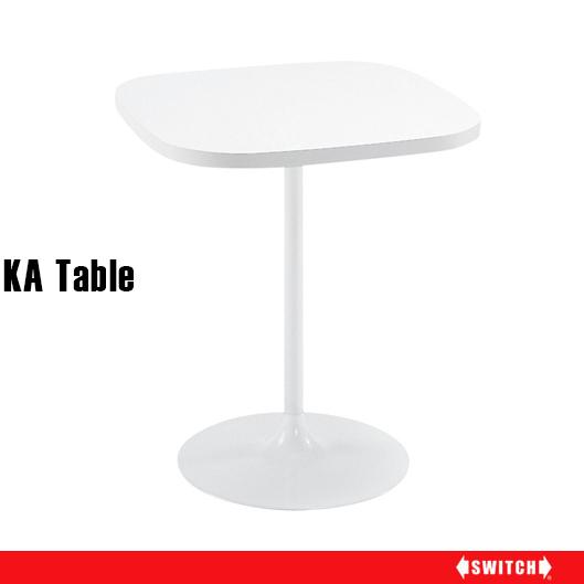 センターテーブル ホワイト 北欧 60 2人 白 カフェテーブル 高さ70cm ナチュラル テーブル カフェ風 カフェ おしゃれ リビングテーブル 鏡面 ミッドセンチュリー シンプル レトロ 机 ミニテーブル ダイニング 1人用 2人用 60cm 高さ 70cm ブランド SWITCH KA