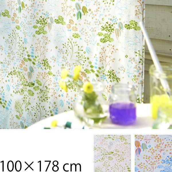 カーテン 既製カーテン 100×178 ナチュラル 既製品 タッセル アジャスターフック デザインカーテン 100×178cm 2枚入り グリーン オレンジ ドレープカーテン 既製サイズ タッセル付き おしゃれ クォーターリポート QUARTER REPORT Clara クララ