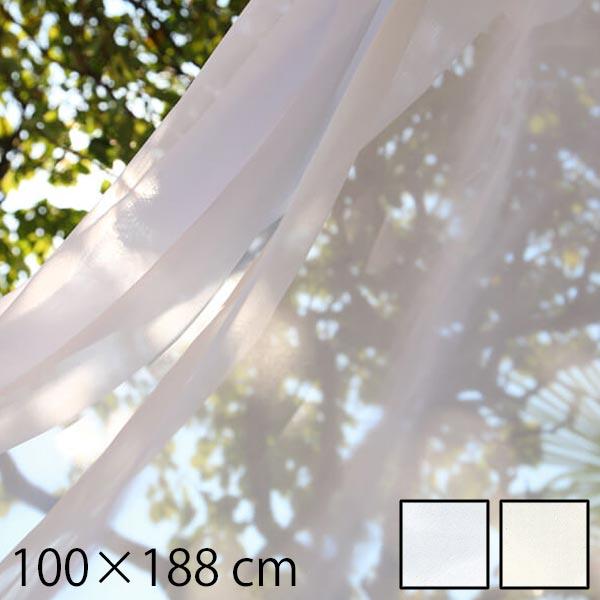 レースカーテン タッセル 北欧 幅100 surge 100×188cm 2枚入り 既製レースカーテン 既製品 カーテン レース 188 2枚組 シンプル ナチュラル 生地 インテリアカーテン おしゃれ リビング 引越し祝い