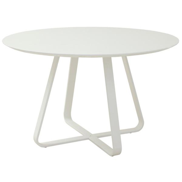 ダイニングテーブル 円形 鏡面 ダイニング 丸テーブル 光沢 丸 4人 カフェ ホワイト 幅120 円卓 120 かわいい モダン おしゃれ カフェ風 テーブル 白 食卓テーブル 丸型 円 ラウンドテーブル 4人用 食卓 家具 インテリア シンプル デザイン