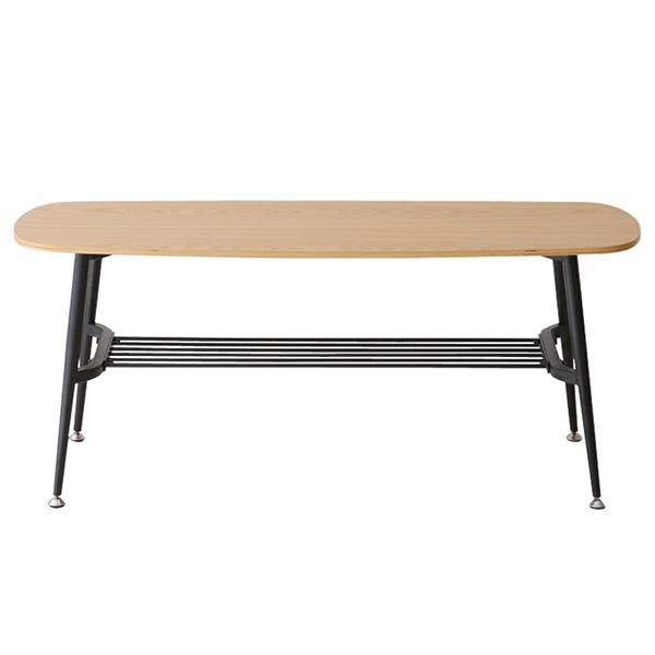 ダイニングチェア ベンチ ダイニングベンチ 椅子 棚付き 食卓 木製 黒 収納 幅100 食卓用 ダイニング ナチュラル ブラック 100cm ダイニング用 イス おしゃれ シンプル 角丸 インテリア 家具 ミッドセンチュリー CLASSIEベンチ