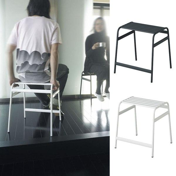 ロータイプ スツール 玄関 シンプル デスクチェア ロースツール スチール カフェスツール グレー おしゃれ パソコンチェア デスクチェアー FRANK LOW STOOL ホワイト DUENDE デュエンデ 白 インテリア 家具 椅子 いす イス カフェ リビング オフィス バー