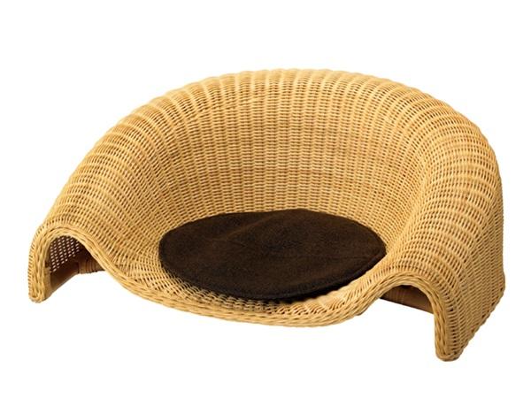 座椅子 ラタン ラタンチェア ナチュラルインテリア 座いす 座イス モダン おしゃれ イス 和モダン 完成品 ナチュラル 椅子 肘掛け 天然素材 シンプル 一人掛け ひとり掛け インテリア 木製家具 家具 WASAI 胡座 あぐら 床 和室