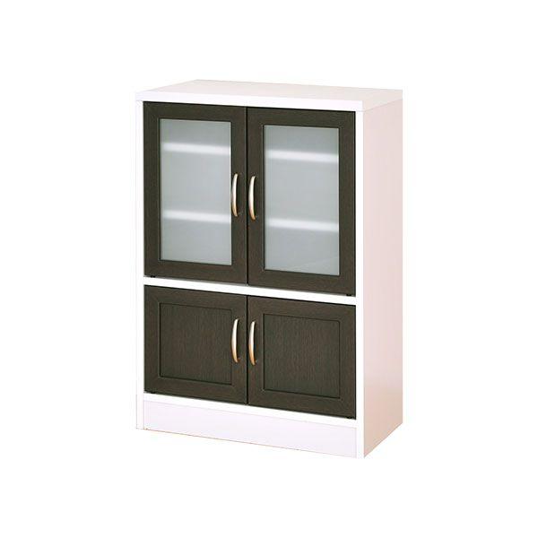 食器棚 食器収納 ロータイプ キッチン収納 幅60 カトラリー カップボード ミニ食器棚 収納 ストッカー キッチンボード 幅約60 食器 リビングボード 薄型 おしゃれ モダン 収納ラック 棚 一人暮らし 小型 小さい 60幅 スリム