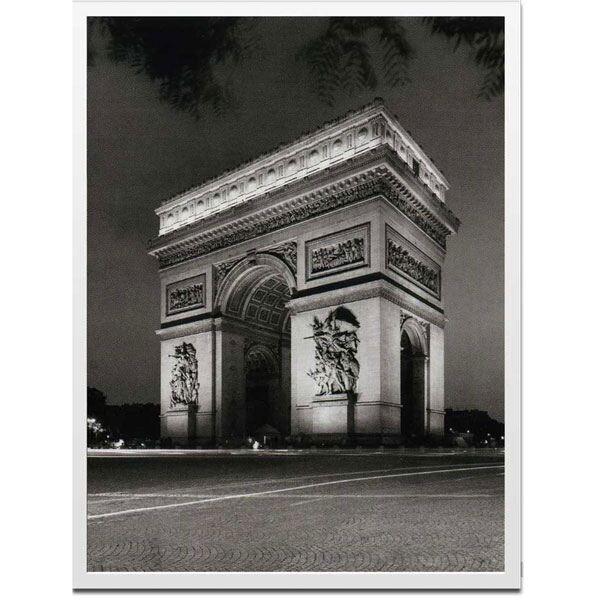 アートポスター インテリア ポスター 飾る デザイン アート アートパネル フランス パリ アートフレーム 壁 ウォールパネル 壁面 額縁 ウォールアート 凱旋門 カフェ ショップ 壁面装飾 ICB70050 Chris Bills Arch de Triumph おしゃれ スタイリッシュ