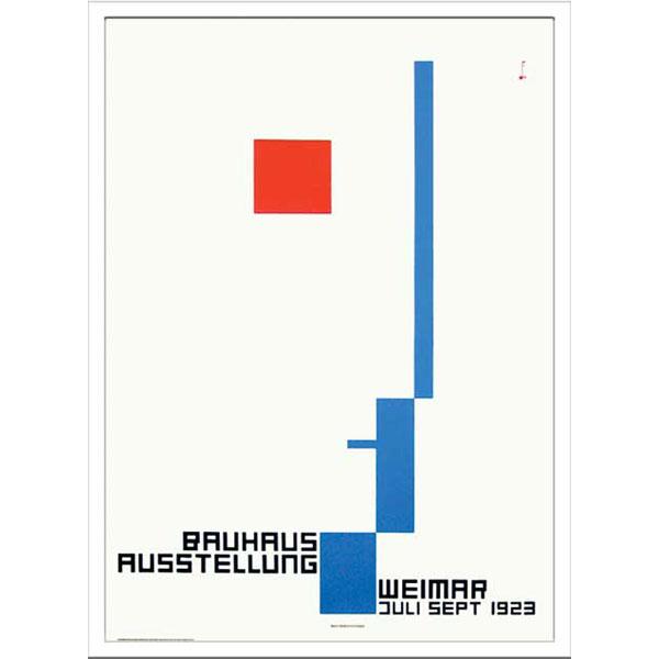アートポスター 北欧 ポスター アート インテリア アートパネル アートフレーム 壁 飾る デザイン スタイリッシュ ウォールアート ウォールデコ モダン インテリア雑貨 Bauhaus バウハウス IBH 70038 Weimar Ausstellung 1923