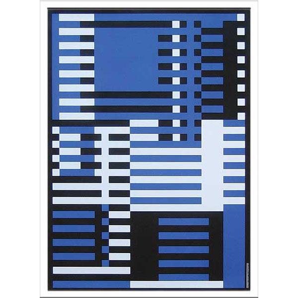 アートポスター 北欧 ポスター インテリア アート ディスプレイ アートパネル アートフレーム デザイン モダン ウォールアート 壁面 壁面装飾 額絵 壁飾り 壁 飾る プレゼント ギフト 芸術 通販 Bauhaus バウハウス IBH 70043 Aufwarts
