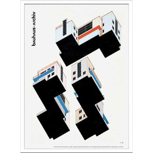 アートポスター 北欧 ポスター 壁飾り 額絵 インテリア 雑貨 アート デザインパネル パネルアート アートパネル アートフレーム 額付き ウォールアート ウォールデコ モダン 壁 飾る Bauhaus IBH 70046 Weimar Ausstellung 1923
