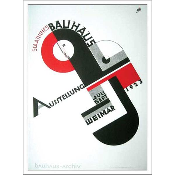 アートポスター 北欧 ポスター インテリア 雑貨 アート デザインパネル パネルアート アートパネル アートフレーム インテリアパネル ウォールデコ モダン 壁 飾る インテリア雑貨 Bauhaus モダニズム建築 IBH 70048 Weimar Ausstellung 1923