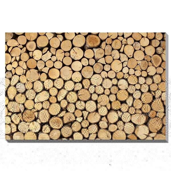 アートパネル アート キャンバス デザイン 北欧 おしゃれ モダンアート 壁面 パネル ウォールパネル インテリアパネル フレーム 壁 木 モダン インテリア プレゼント ギフト 引越し祝い 新築祝い 開店祝い IAP51593 urbans Wall made of stacked wood