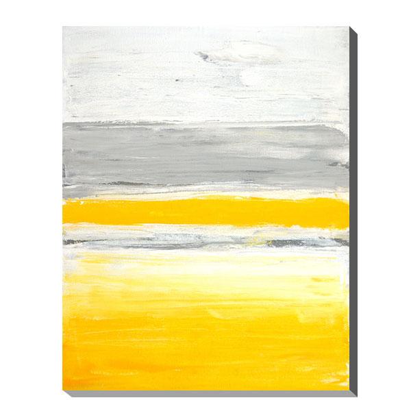 アートパネル アート キャンバス デザイン インテリアパネル 北欧 おしゃれ モダンアート 壁面 パネル ウォールパネル フレーム 壁 モダン インテリア プレゼント ギフト 引越し祝い 新築祝い 開店祝い IAP51598 T30 Gallery Grey and Yellow Abstract Art Painting