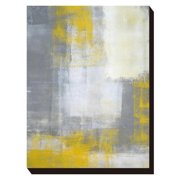 ポスター アートパネル パネル アートポスター キャンバス インテリア IAP-52109 Art Panel T30 Galler Grey and Yellow