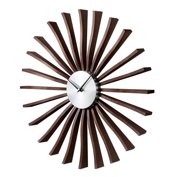 掛け時計 壁掛け ジョージネルソン デザイナーズ 時計 デザイナー ネルソンクロック ジョージ・ネルソン ウォールクロック フラッタークロック リプロダクト 壁掛け時計 掛時計 George 復刻版 Nelson ミッドセンチュリー おしゃれ インテリア Flutter Clock GN001