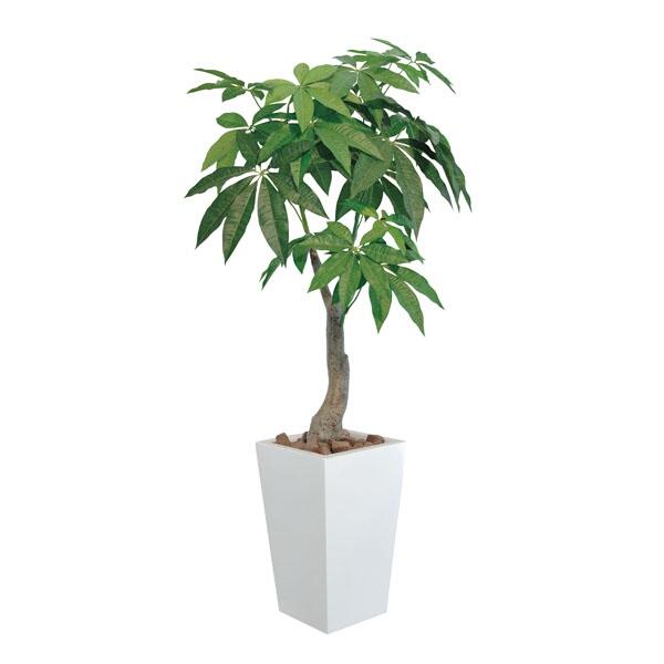 光触媒 観葉植物 パキラ 造花 高さ100cm ロイヤル インテリア インテリアグリーン 光触媒観葉樹 消臭 ギフト フェイクグリーン 人工植物 植物 開店祝い おすすめ リビング
