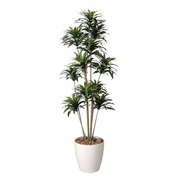 フェイクグリーン 人工植物 イミテーショングリーン 人工観葉植物 玄関 観葉植物 ドラセナコンパクタ 高さ160cm 庭 インテリア 廊下 インテリアグリーン 造花 アートグリーン 新築祝い 引越し祝い