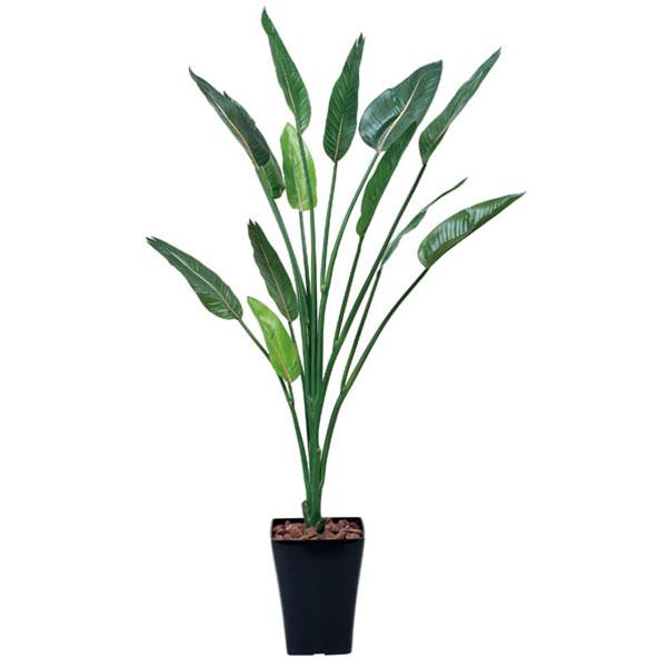 観葉植物 光触媒 植物 ストレチア グリーン イミテーショングリーン 光の楽園 光触媒人工植物 大型 フェイクグリーン 人工観葉植物 高さ160cm 人工植物 インテリアグリーン インテリア ギフト 空気清浄 消臭 ホルムアルデヒド 分解 1.6