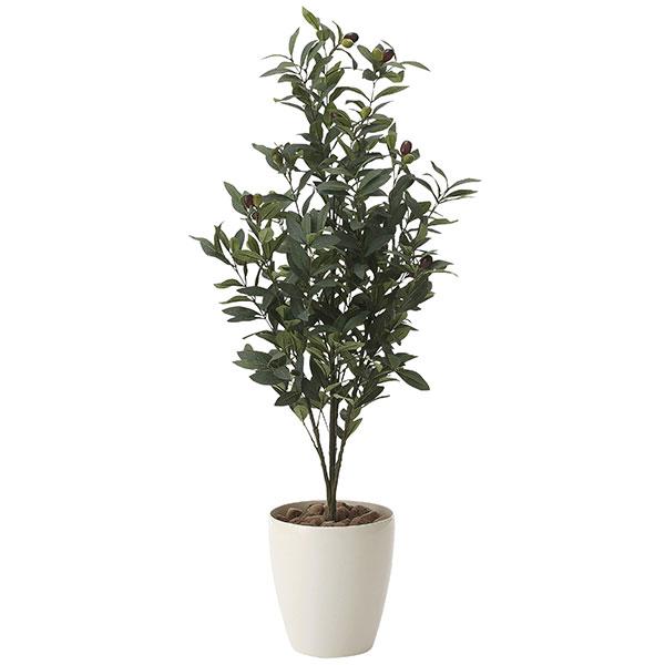 光触媒 観葉植物 イミテーション インテリア 記念日 フェイクグリーン 植物 抗菌 枯れない 人工観葉植物 ギフト 母の日 祝い 消臭 贈り物 高さ130cm フェイク オリーブ1.3 おすすめ リビング