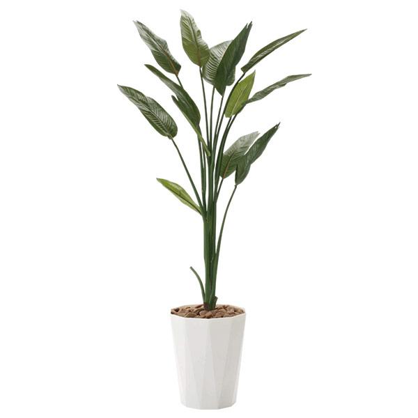 人工観葉植物 光触媒 観葉植物 アートグリーン インテリア フェイクグリーン ストレチア1.6 人工植物 高さ160cm 防汚 消臭 抗菌 記念日 贈り物 おしゃれ 開店祝い おすすめ リビング
