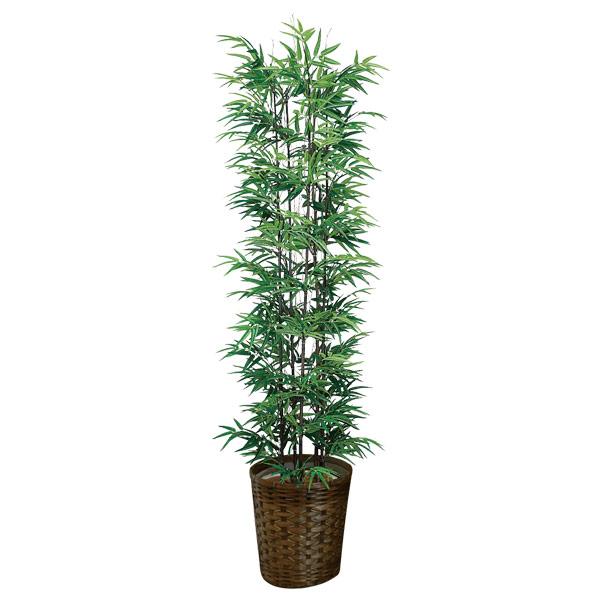 人工観葉植物 光触媒 観葉植物 アートグリーン インテリア 抗菌 消臭 フェイクグリーン 黒竹1.8 人工植物 高さ180cm 記念日 防汚 贈り物 おしゃれ 開店祝い