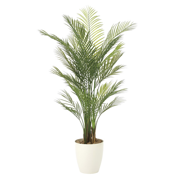 人工観葉植物 観葉植物 屋外対応 フェイクグリーン インテリア 屋外庭園 植栽 人工植物 高さ150cm アレカパーム