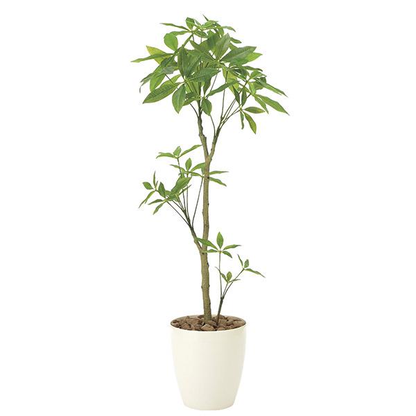人工観葉植物 光触媒 観葉植物 フェイクグリーン インテリア 人工植物 高さ130cm 消臭 抗菌 防汚 パキラ