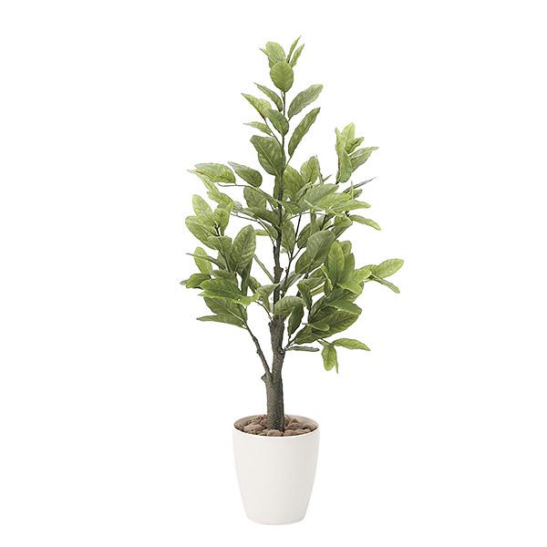 人工観葉植物 光触媒 観葉植物 フェイクグリーン インテリア 人工植物 高さ130cm レモン 消臭 抗菌 防汚