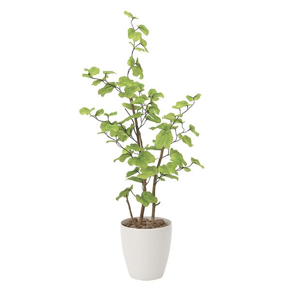 人工観葉植物 光触媒 観葉植物 フェイクグリーン インテリア 人工植物 高さ130cm バウヒニア 消臭 抗菌 防汚