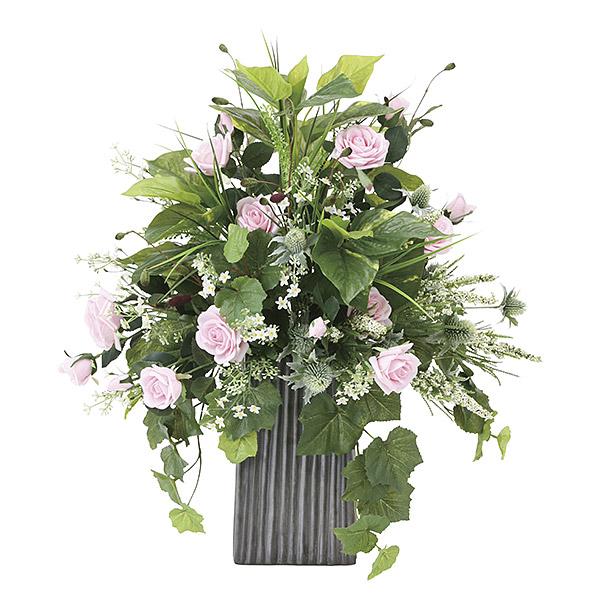 造花 光触媒 観葉植物 インテリア 人気 おしゃれ アートフラワー ギフト 花 バラ グリーン