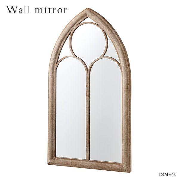鏡 木枠 窓風 カントリー 壁掛けミラー 姿見 ナチュラル アンティーク インテリアミラー ミラー ウォールミラー 壁掛け 壁掛け鏡 洗面 玄関ミラー デザインミラー