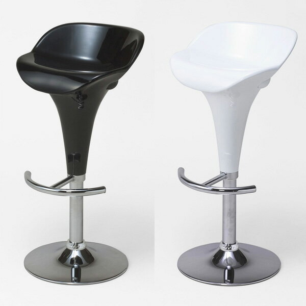 バーカウンターチェア バーカウンター 椅子 シンプル 背もたれ付き 昇降 腰掛 バーチェアー 黒 バーチェア ホワイト 昇降式 白 ブラック ハイチェア キッチンチェア メッキ仕上げ カウンターチェアー カフェテーブルチェアー バー カフェ イス キッチン