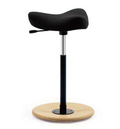 ハイスツール 木製 スツール 腰掛け 腰掛 1人用 デザイナーズチェア 昇降 Move ブラック おしゃれ 昇降チェア ハイチェア チェア ムーブ 黒 Varier ヴァリエール 布張り ファブリック デザイナーズ デザイナー 画家 椅子 いす イス チェアー 大人