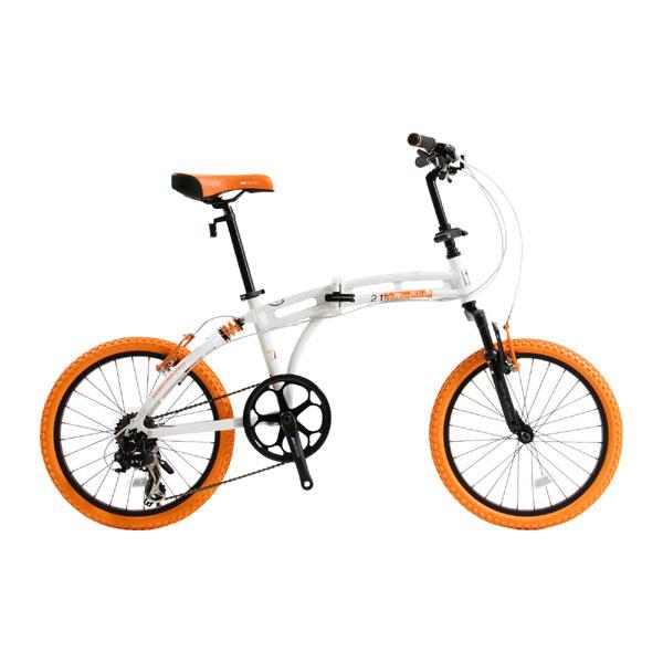 折り畳み自転車215 Barbarous DOPPELGANGER ドッペルギャンガー アルミフレーム