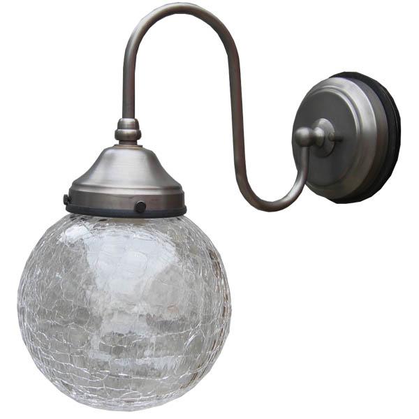 アンティーク エクステリアライト 照明 ガーデンライト 1灯 レトロ ガラス ガラスシェード おしゃれ 洋風 エクステリア ライト クラシカル 壁 エクステリアランプ ポーチライト 玄関 屋外 室外 エクステリア照明 エントランス 壁掛け FC-WO220A 313