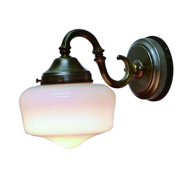 ウォールランプ ウォールライト アンティーク 洋風 エクステリアライト 壁 屋外 ガラス シェード レトロ 壁付け 照明 壁掛け照明 おしゃれ 姫系ランプ アンティーク風 エクステリア ランプ ライト 野外 屋外用 FC-WO265A 130