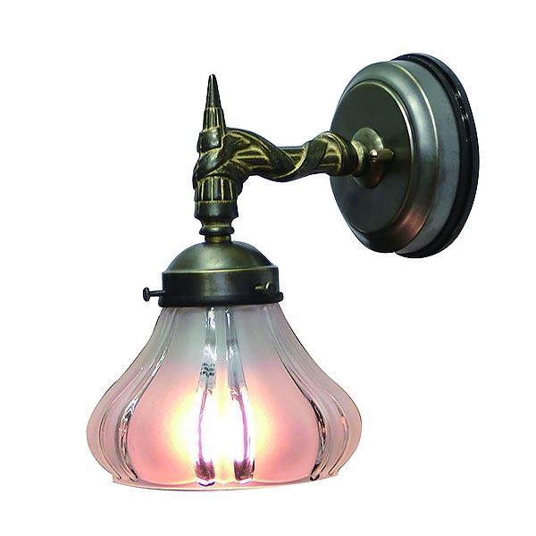 ウォールランプ ウォールライト アンティーク 洋風 エクステリアライト 壁 屋外 ガラス シェード レトロ 壁付け 照明 壁掛け照明 おしゃれ 姫系ランプ アンティーク風 エクステリア ランプ ライト 野外 屋外用 FC-WO108A 360