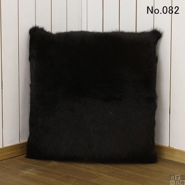 シートクッション クッション 45×45 椅子 おしゃれ 椅子用 チェア ベンチ 中身付き 北欧 牛革 本革 レザー 革 四角 COWシートクッション 【No.082】