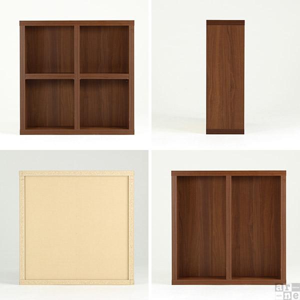 ea4de4fb25 本棚 2段 完成品 オシャレ 幅90 日本製 書棚 ラック 文庫本 飾り棚 丈夫 ...