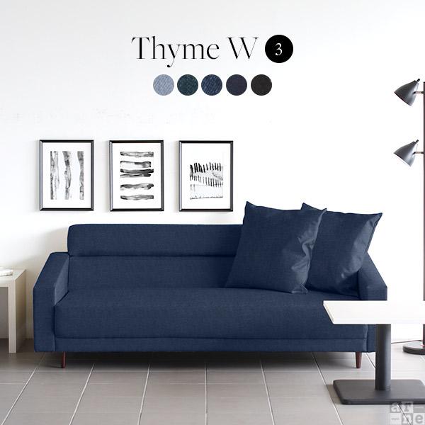 Thyme W 3P デニム