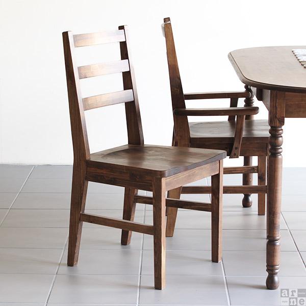 ダイニングチェア 無垢 木製チェア レトロ アンティーク 木製 チェア 椅子 北欧 食卓用 食卓椅子 いす ダイニング用 カフェ風 ウッド new_arcII アームレス おしゃれ アンティーク調 デスクチェア インテリア ディスプレイ ファミリー 新生活 Bチェア 完成品 新生活