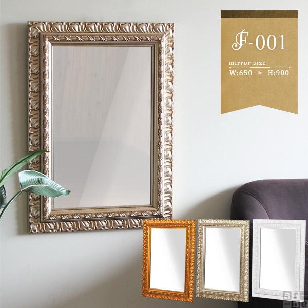 鏡 壁掛け おしゃれ ミラー 白 インテリア ウォールミラー かがみ 姿見 玄関 全身鏡 アンティーク 全身 吊鏡 美容室 壁掛けミラー 飛散防止処理 ホワイト 賃貸 ゴールド シャンパンゴールド 店舗 サロン mirror ディスプレイ プレゼント 幅65cm 高さ90cm