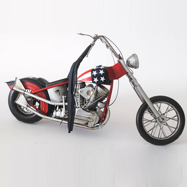 置物 オブジェ インテリア ブリキ レトロ おしゃれ ディスプレイ 模型 ブリキのおもちゃB-バイク01