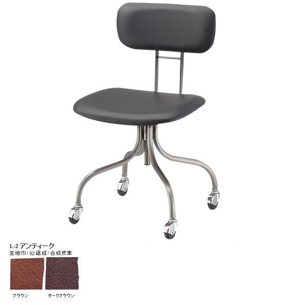 1人掛けチェア キャスター付き オフィスチェア コンパクト 椅子 パソコンチェアー 背もたれ 学習椅子 おすすめ キャスター パソコンチェア 書斎 応接  キャスター付き椅子 チェアー ジェリーデスクチェア Jelly desk chair L-2アンティーク SWITCH スウィッチ